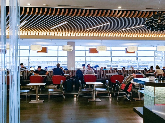 Finnair Lounge at JFK