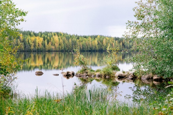 Lake in Lapland