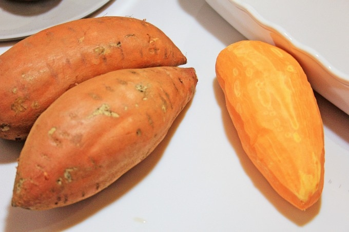 Potatoes for roasted sweet potatoes recipe