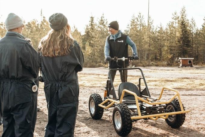Racing buggy