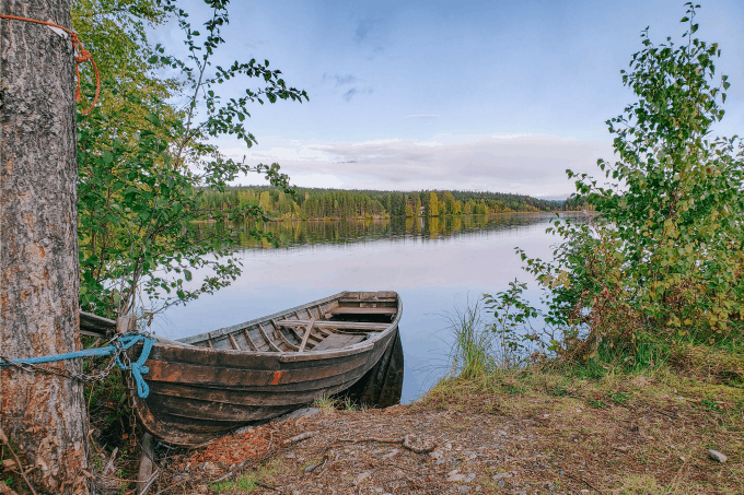 You won't find many more family friendly things to do in Finland than to explore nature