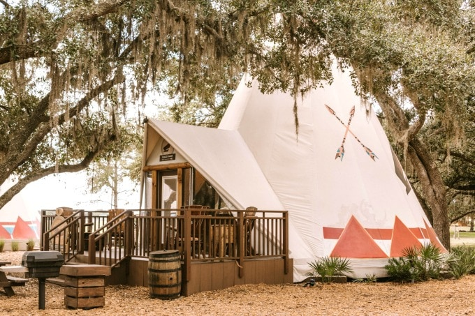 Teepee at Westgate River Ranch Resort