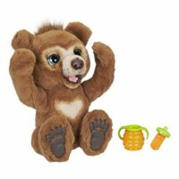 Cubby, The Curious Bear Interactive Plush Toy