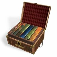 Harry Potter Books Set #1-7 in Collectible Trunk Box