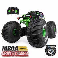 Mega Grave Digger All-Terrain Remote Control Monster Truck