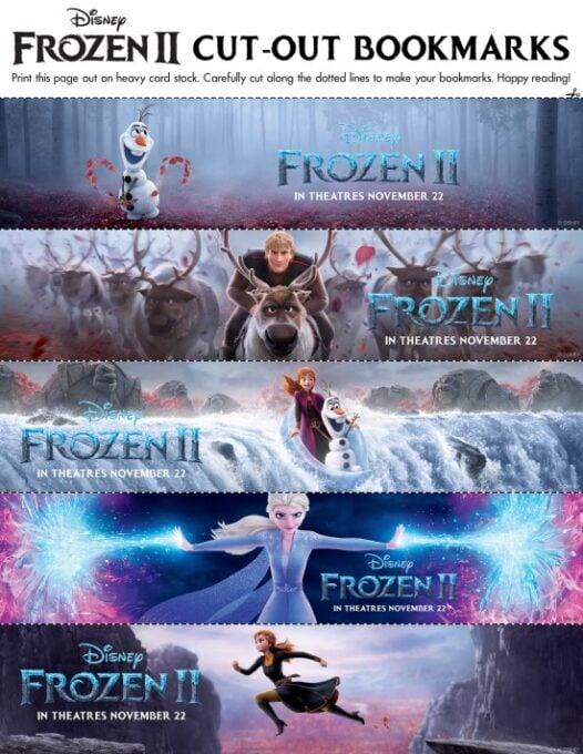 Frozen bookmarks