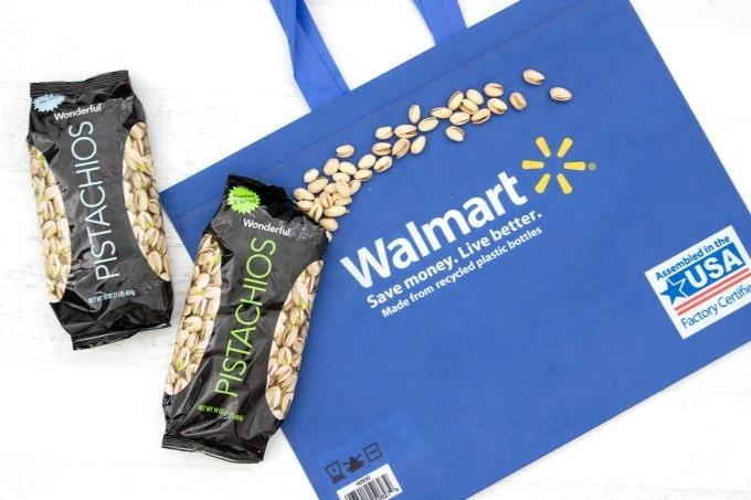 Wonderful pistachios at Walmart