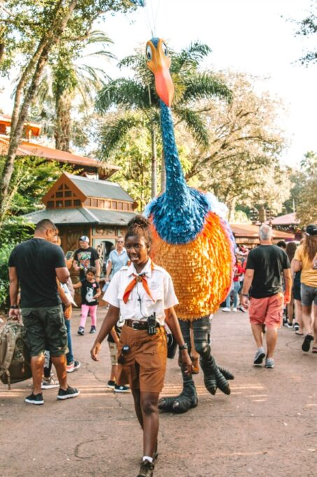 Giant puppet in Animal Kingdom
