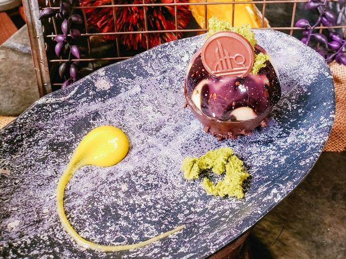 Batuu Bon dessert in Galaxy's Edge