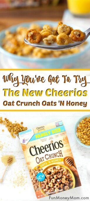 Cheerios™ Oat Crunch Oats 'N Honey