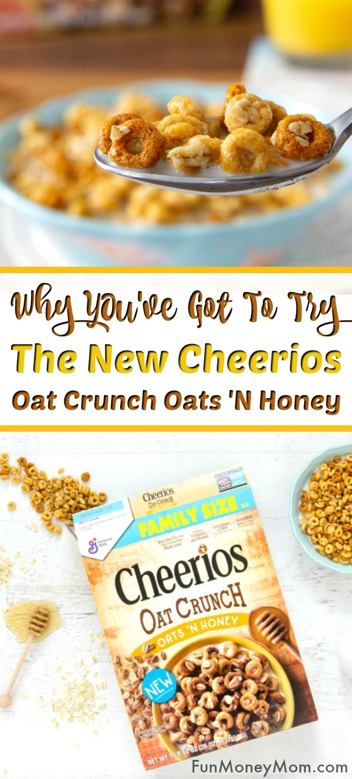 Cheerios™ Oat Crunch Oats 'N Honey