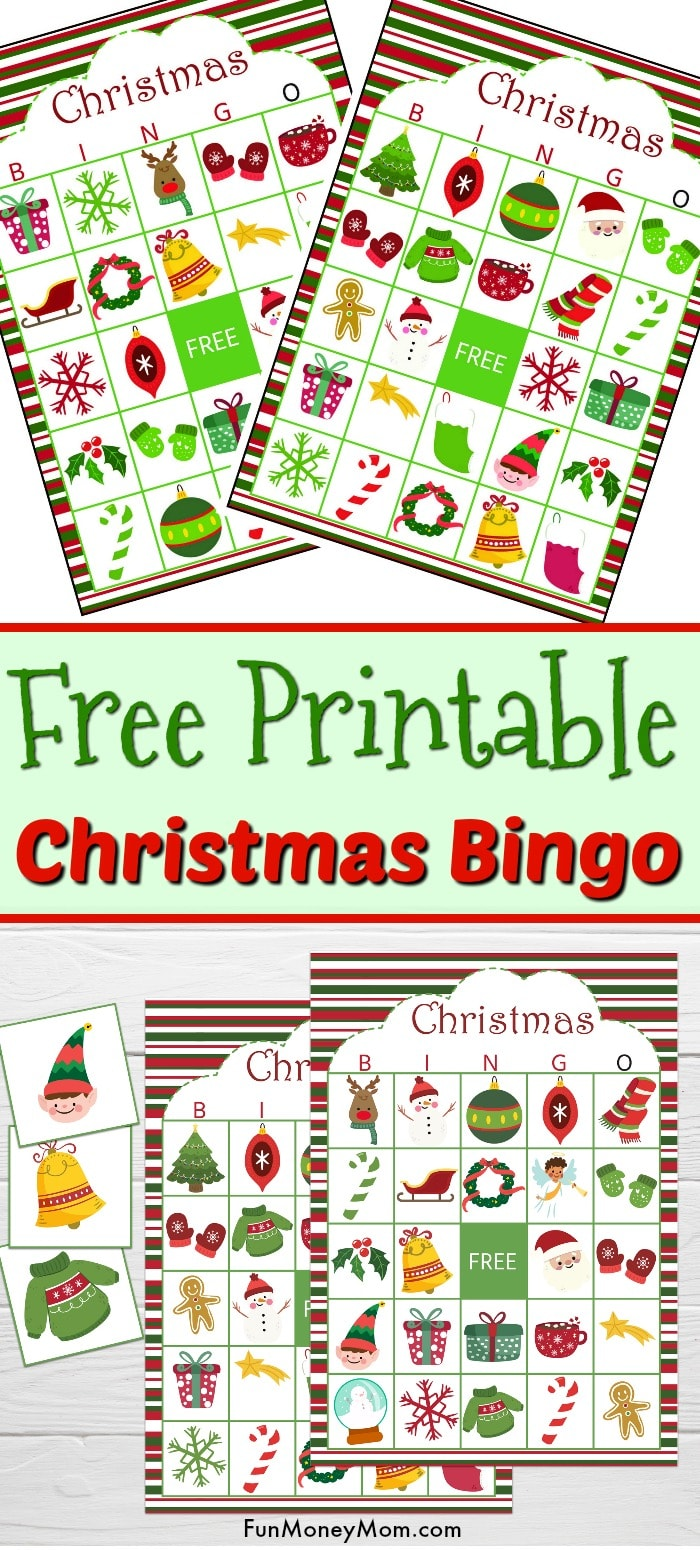 Christmas Bingo - This Christmas Bingo Game is the perfect entertainment for Christmas parties, class parties or just when you need something to keep the kids out of kitchen while you cook Christmas dinner. #christmasbingo #bingo #holidaygames #christmasbingogame #christmasbingocards