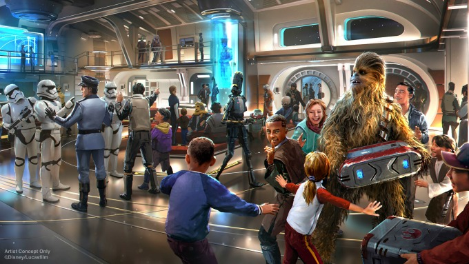 Inside the Galactic Starcruiser