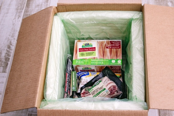Perdue products in box
