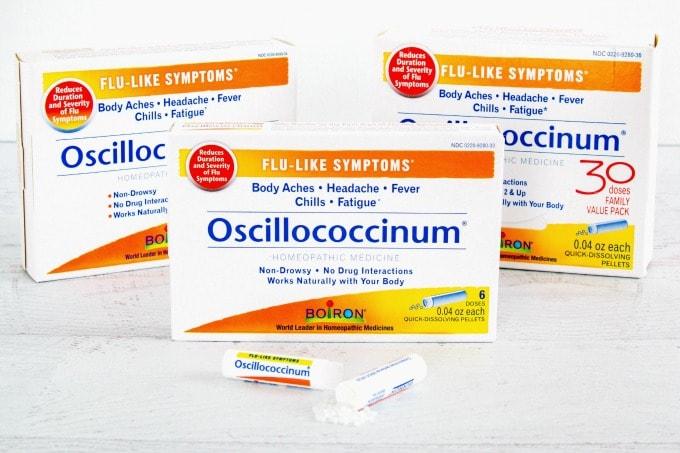 Boiron Oscillococcinum for essential road trip gear