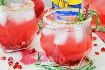 Vanilla Pomegranate Punch