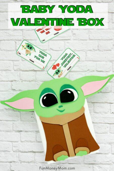 Baby Yoda Valentine Box Pin 1