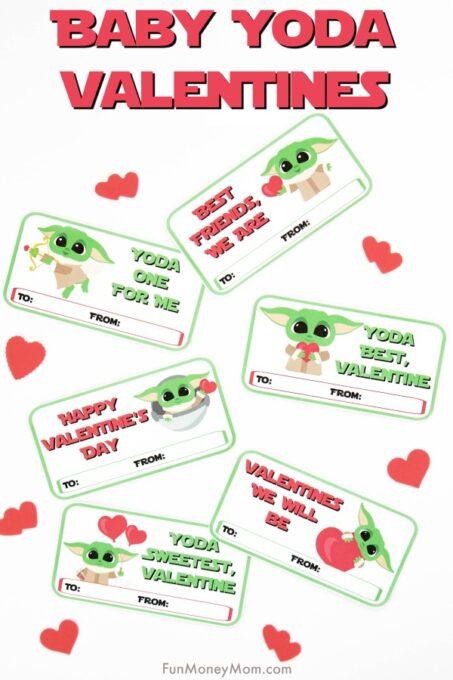 Baby Yoda Valentines Pin