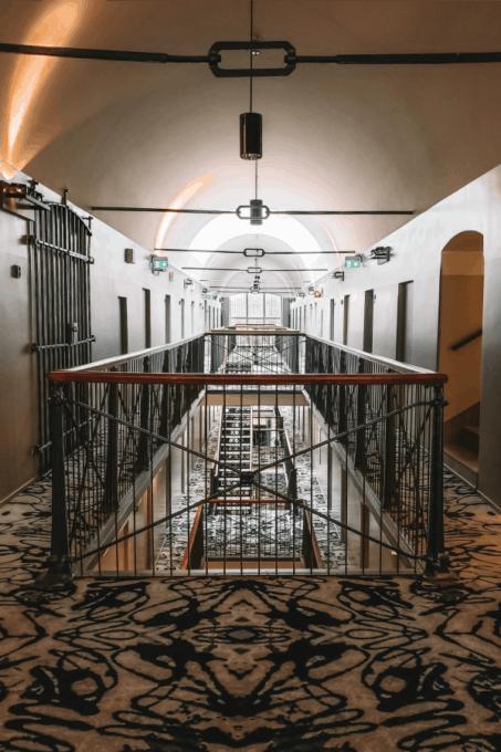 Hallway of the Katajanokka Hotel Helsinki