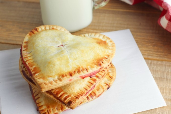 Cherry filled hand pies