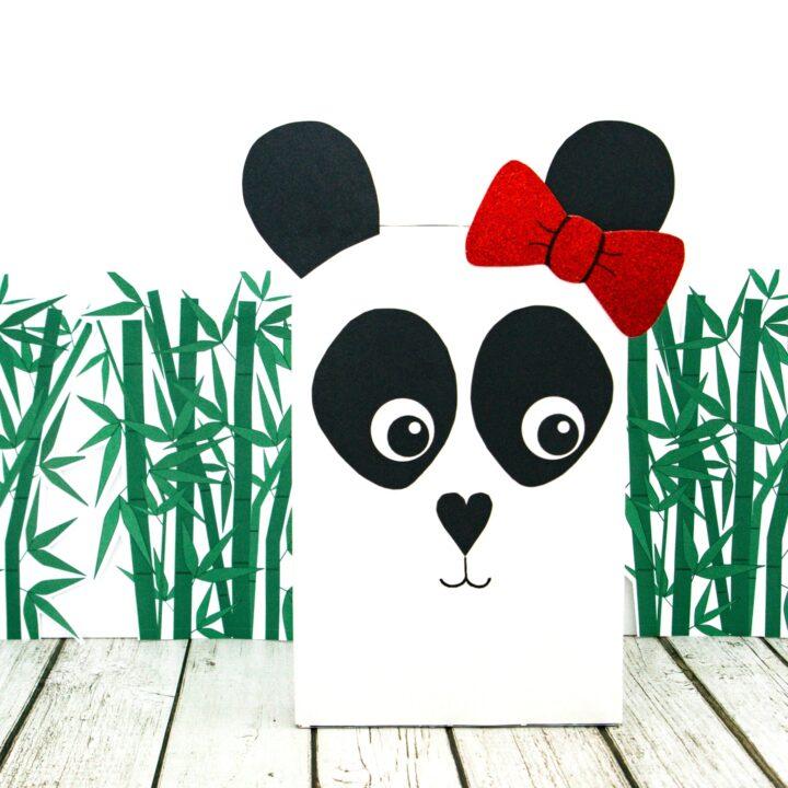 Panda Valentine Box