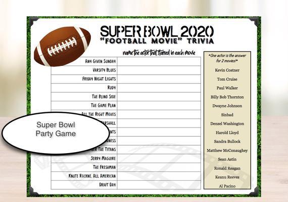 Football Movie Game