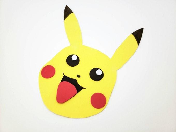 Pikachu valentine box face