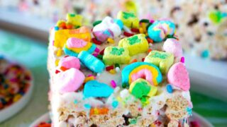 Loaded Lucky Charms Treats