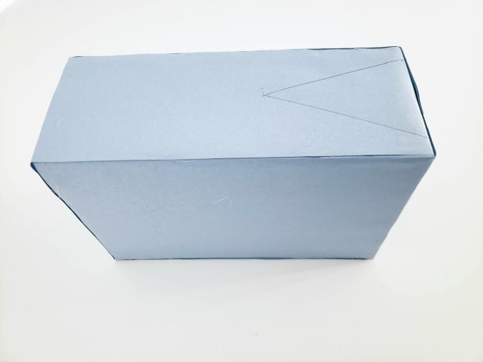 Mouth for shark valentine box
