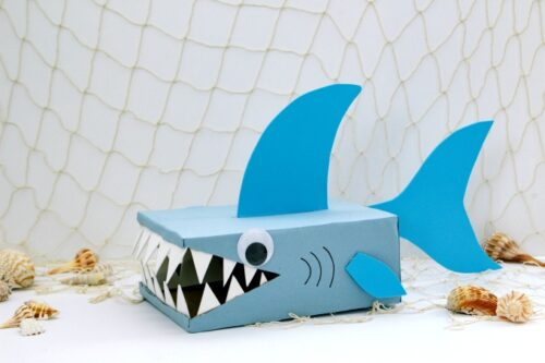 Shark valentine box