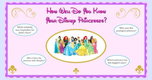 Disney Princess List FB