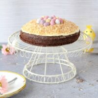Chocolate Easter Nest Cake