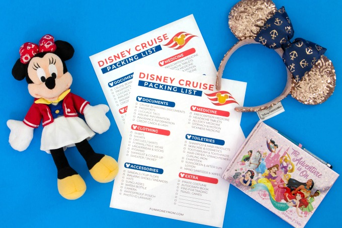 Disney cruise packing list