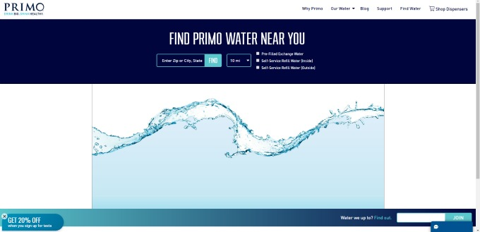 Primo Water Locator