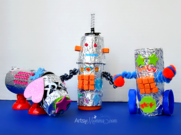 Crafty Recycled Robots