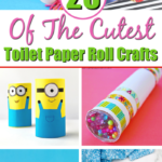Toilet Paper Roll Craft Pin