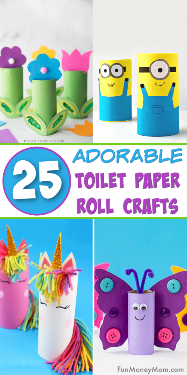 Toilet Paper Roll Crafts Pin 2