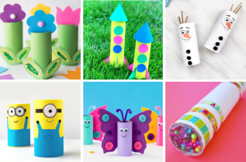 Toilet Paper Roll Crafts feature