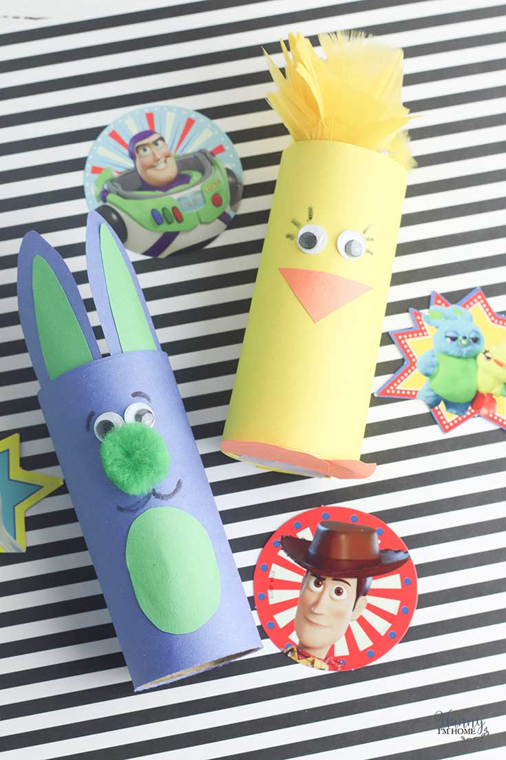 Adorable Bunny and Ducky Toy Story Craft