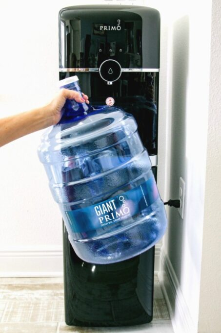Water Dispenser and refillable jug