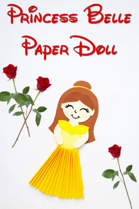 Belle Paper Doll Pin 1