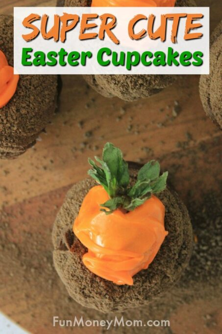 Carrot Patch Easter Cupcakes
