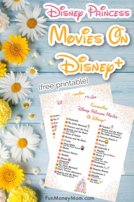 Disney Princess Movies On Disney+