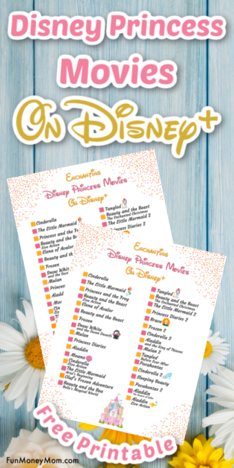 Disney Princess Movies On Disney+