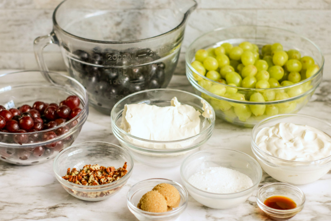 Grape Salad Ingredients