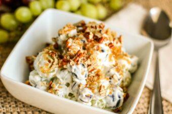 Grape Salad recipe feature