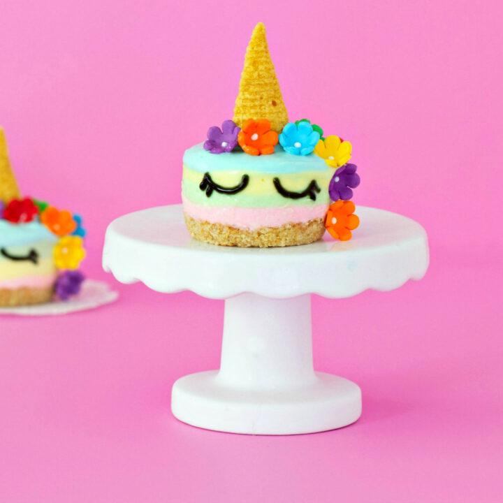 Unicorn Cheesecakes