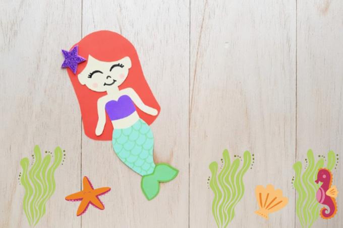 Ariel Paper Craft