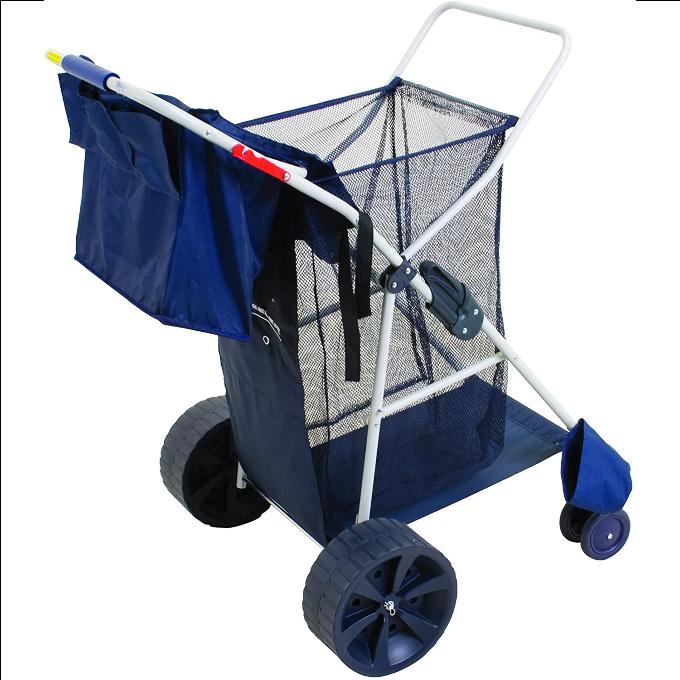 Multi-purpose beach cart