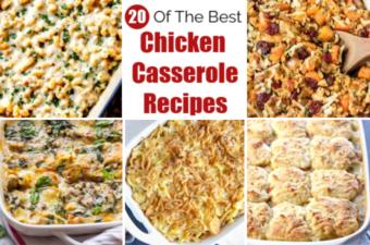 Chicken Casserole feature